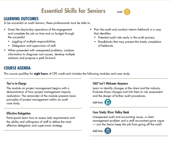 Essential Skills For Seniors | MRA Learning